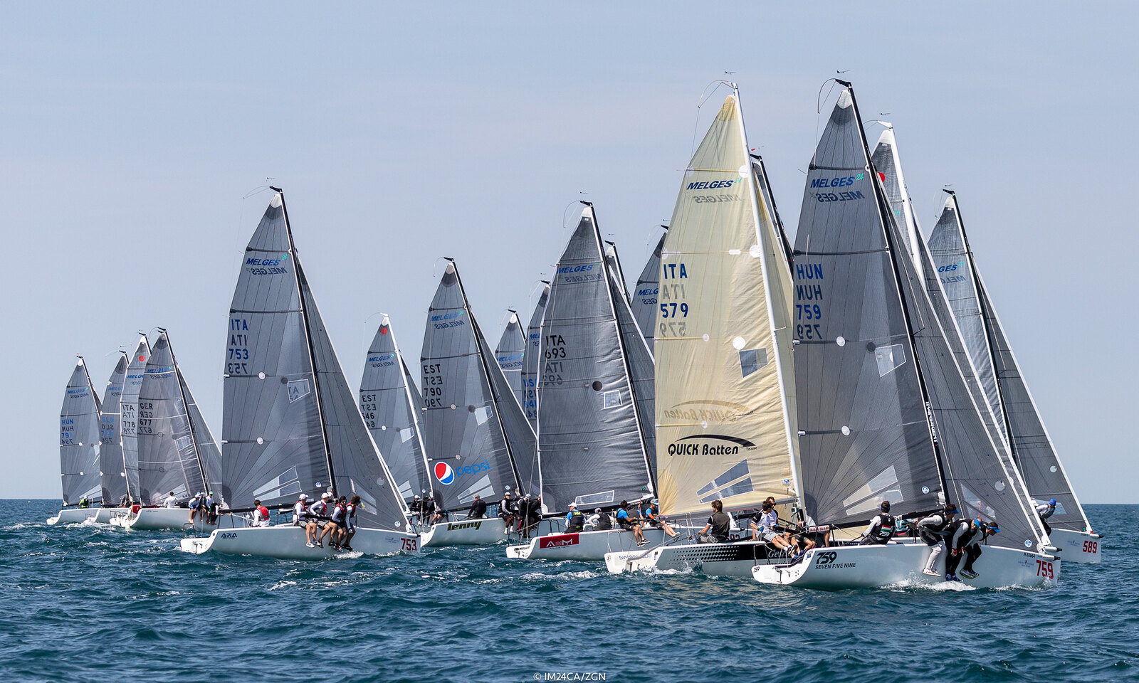 Melges 24 fleet is ready to rumble