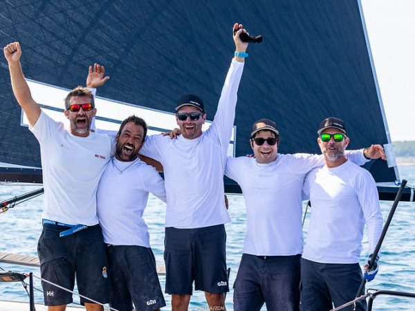 NEFELI TAKES ITS FIRST VICTORY OF THE SERIES IN PORTOROŽ